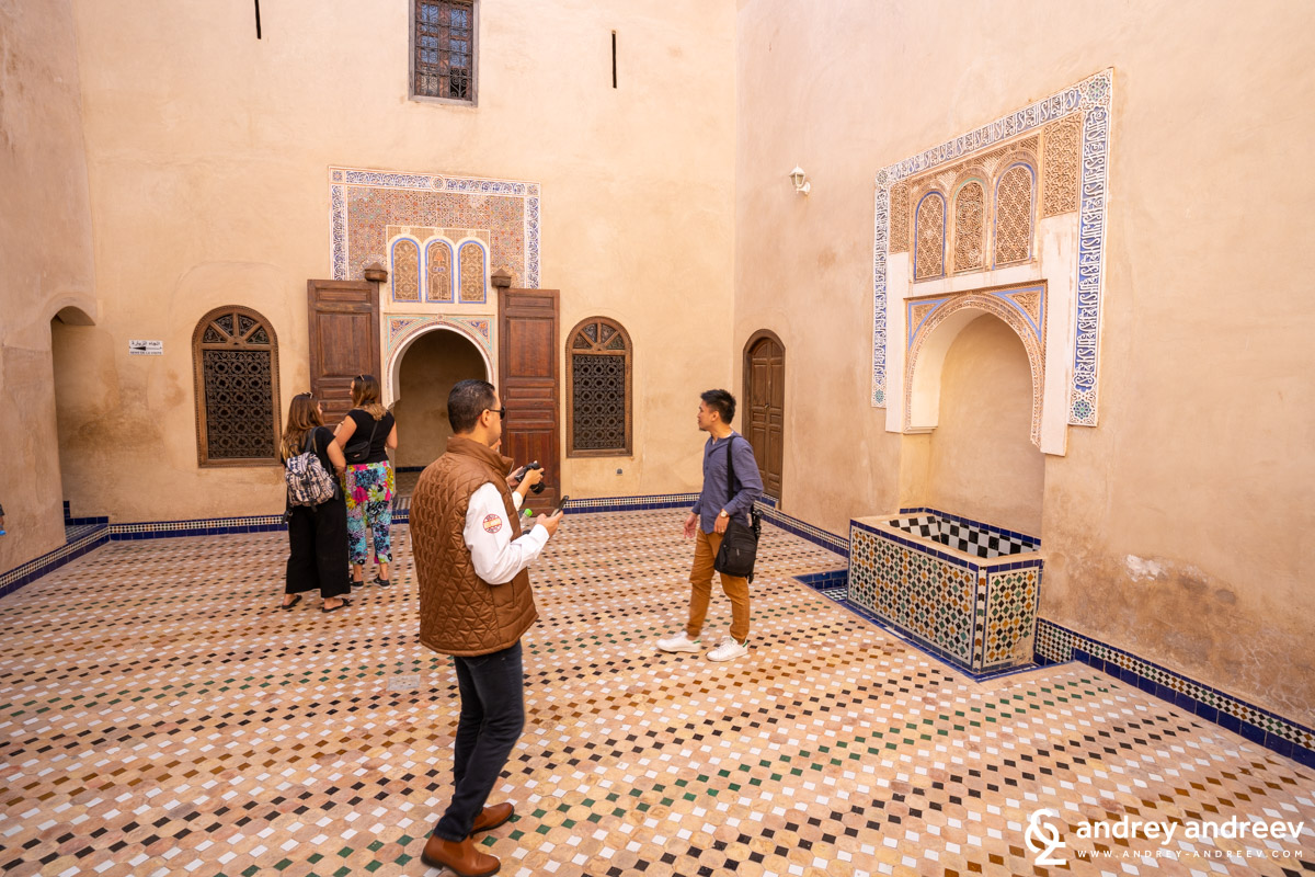 The harem areas are quite modest in size and decoration