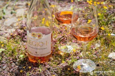 Legio I Export rosé merlot & cabernet sauvignon