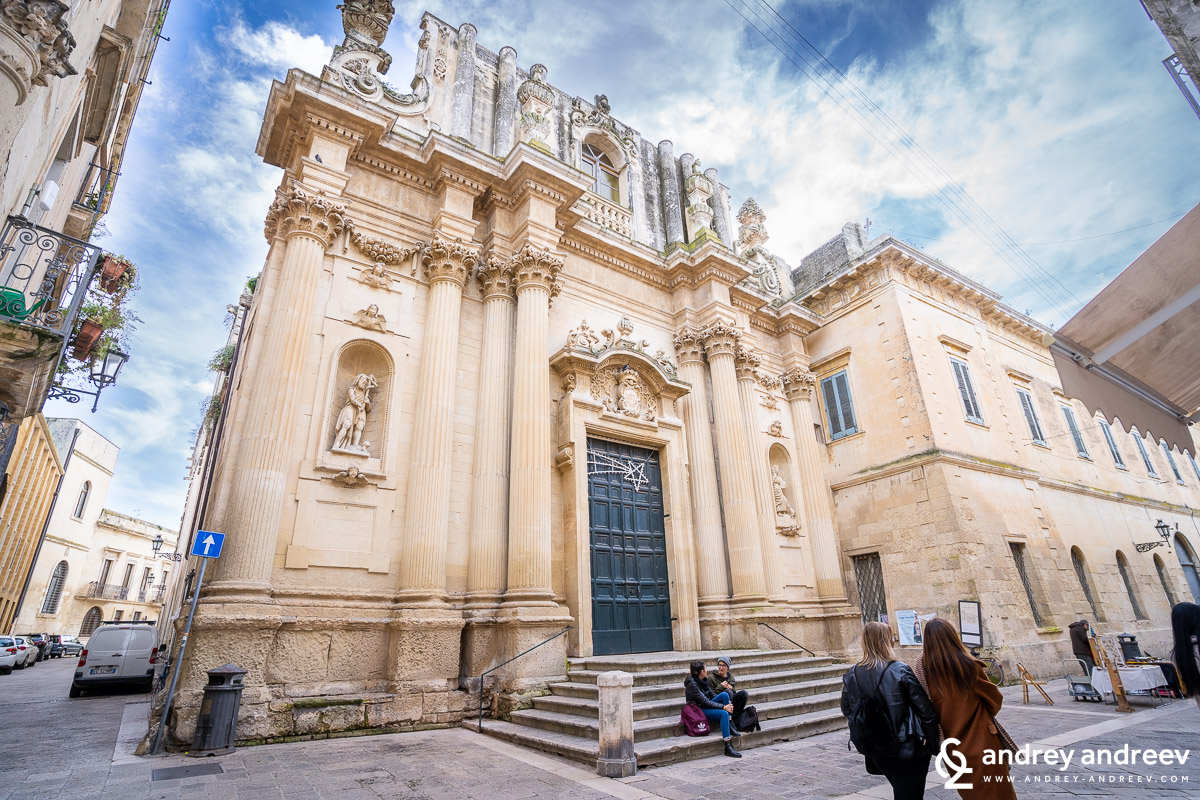Aanta Theresa church in Lecce