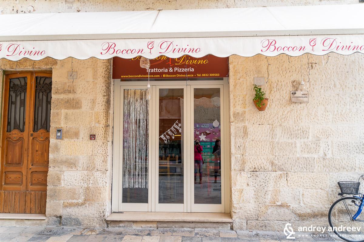 Ресторант Boccon Divino в Лече