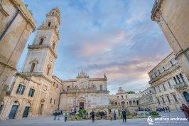 Piazza del Duomo Lecce Italy