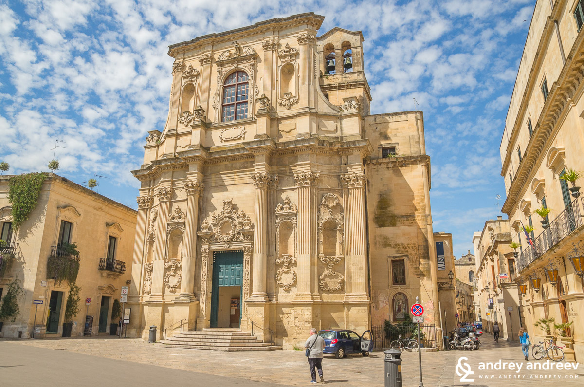 Lecce, 2014, Santa Chiara church