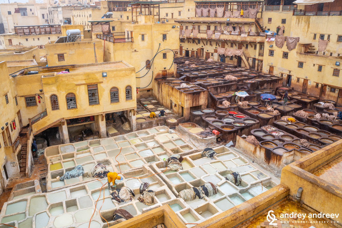 The Chouara tannery in Fes
