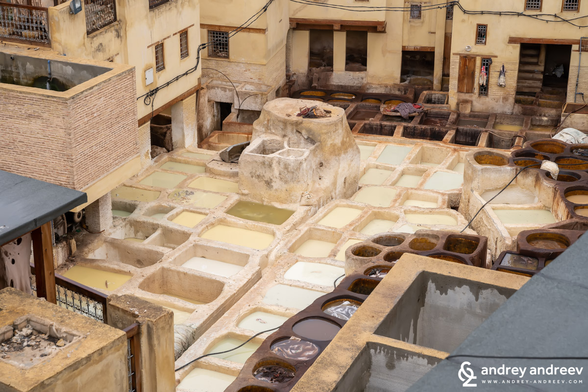 The same gaps at Sidi Moussa tannery