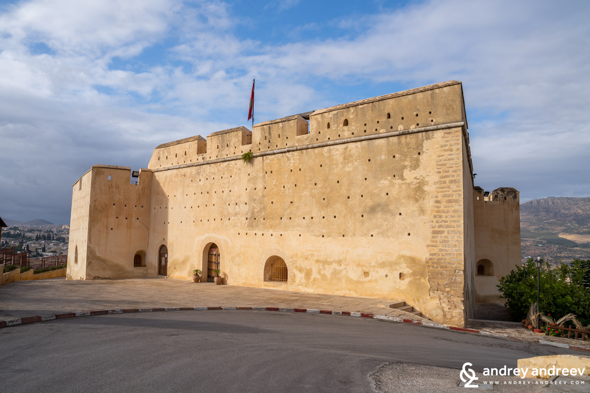 Borj Sud, The fortification on the hill near Fes
