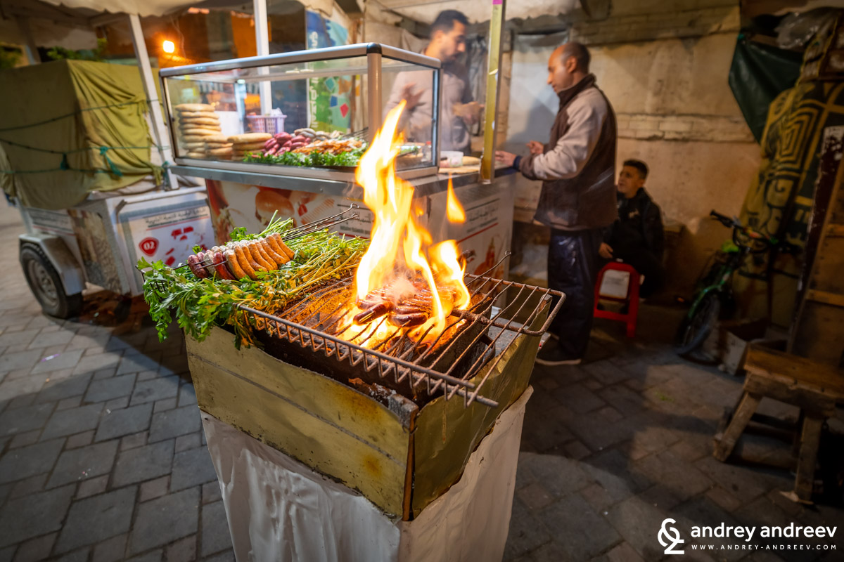 If you are adventurous, you can also try street food in Morocco