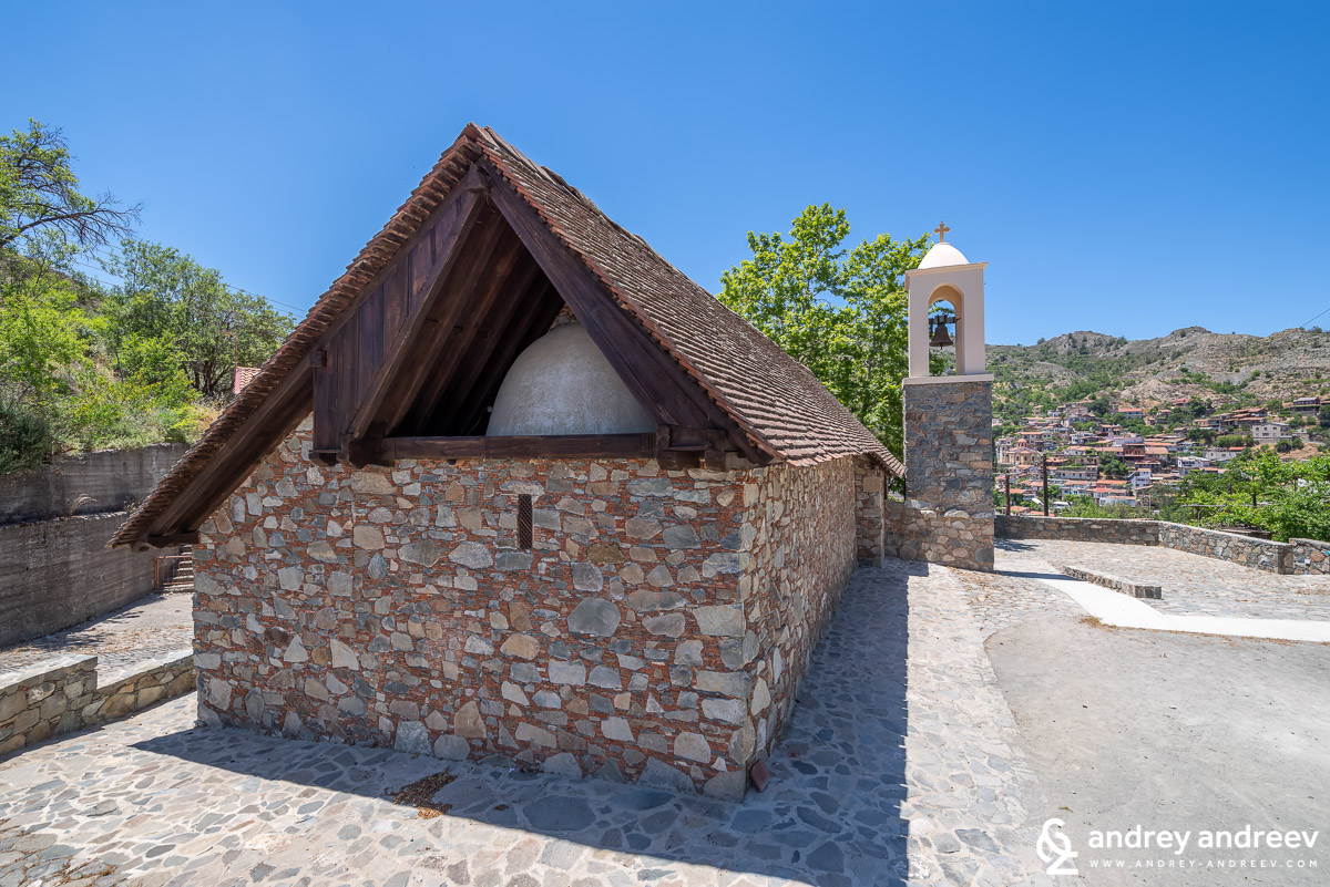 Church of the Metamorphosis tou Sotiros (The Transfiguration of the Saviour) in Palaichori village - Μεταμόρφωση του Σωτήρος