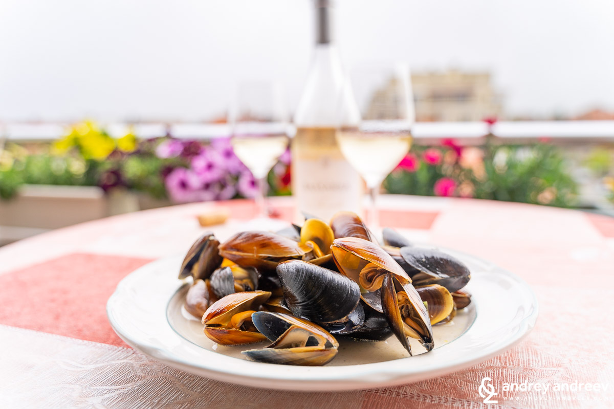Mussels with Tamianka 2019