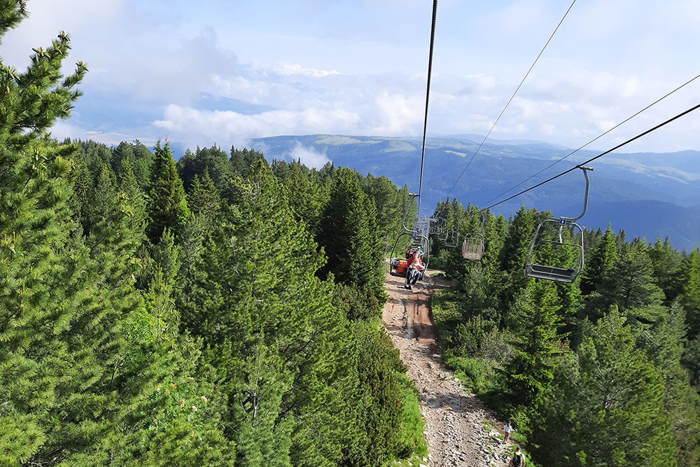 The cable car to the Seven Rila Lakes