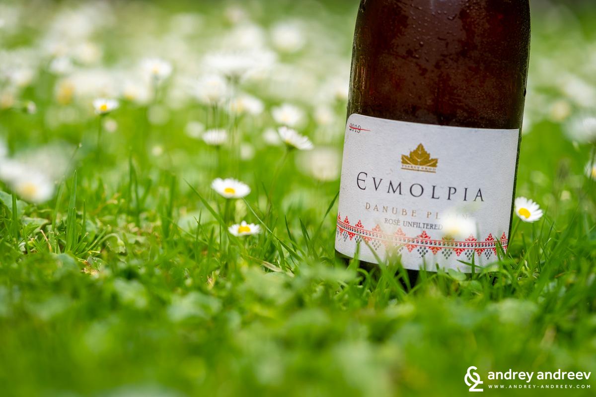 Евмолпия розе от винарска изба Царев Брод