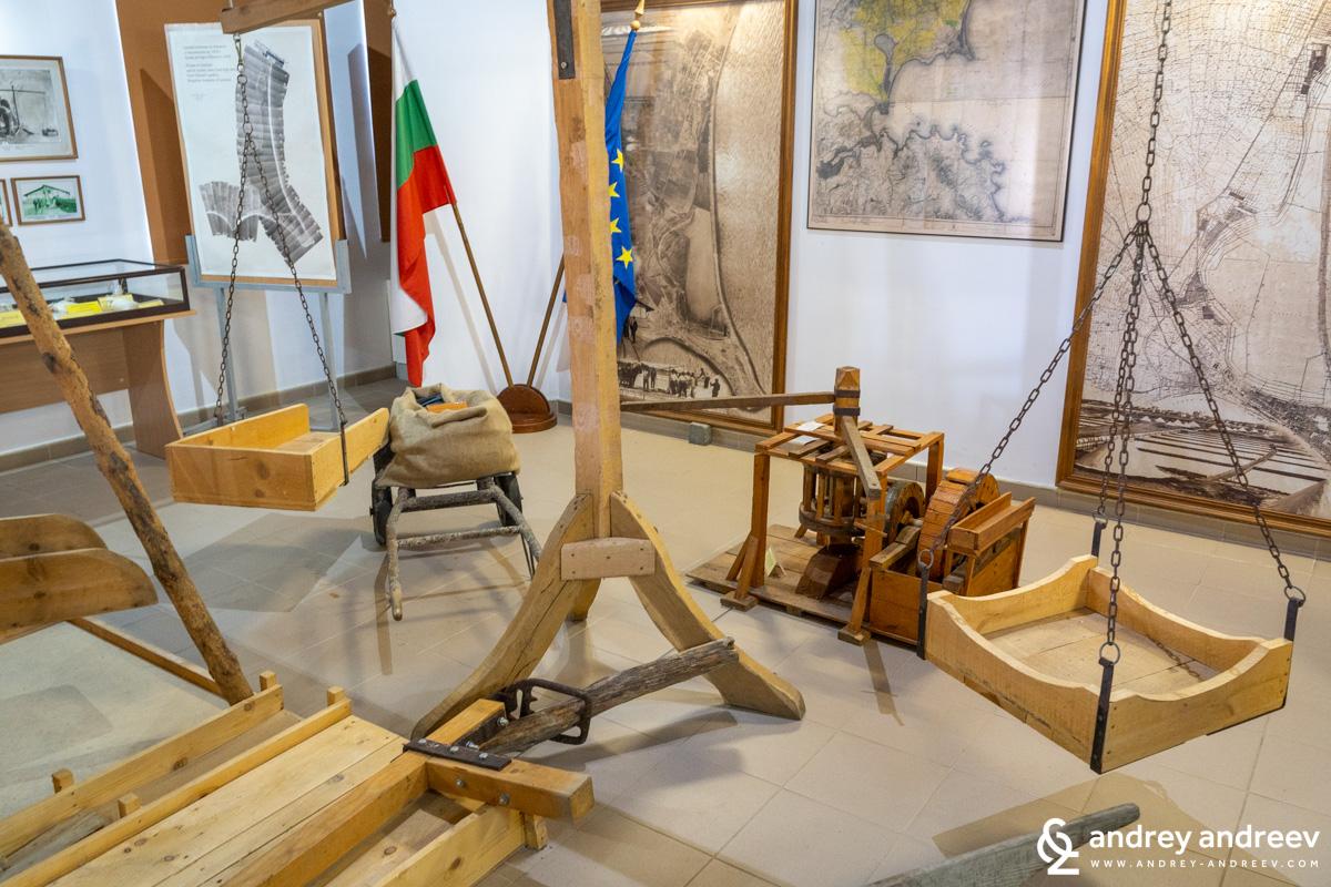 Експозицията в музей на солта Поморие