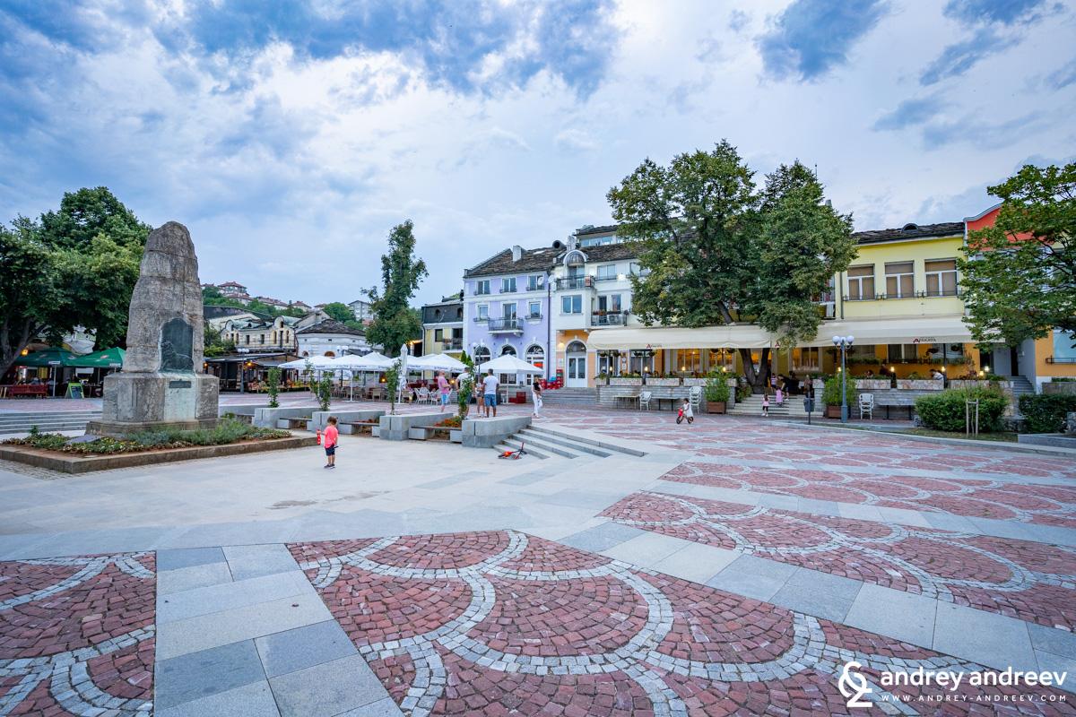 Площад Тодор Кирков във Вароша в Ловеч