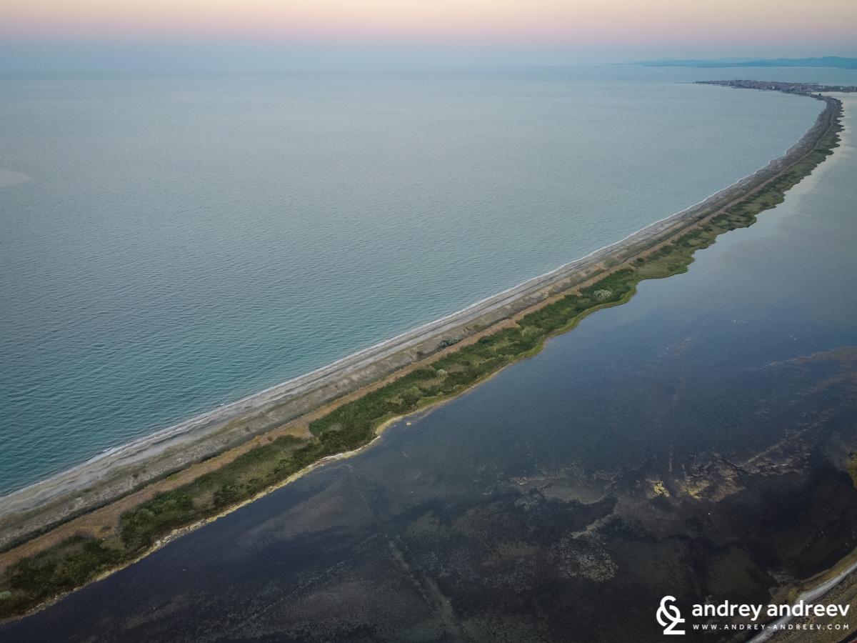 Косата на Поморийското езеро