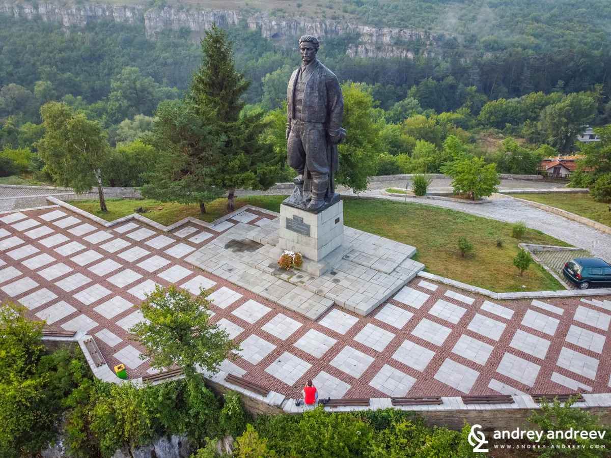 The monument of Vasil Levski in Lovech