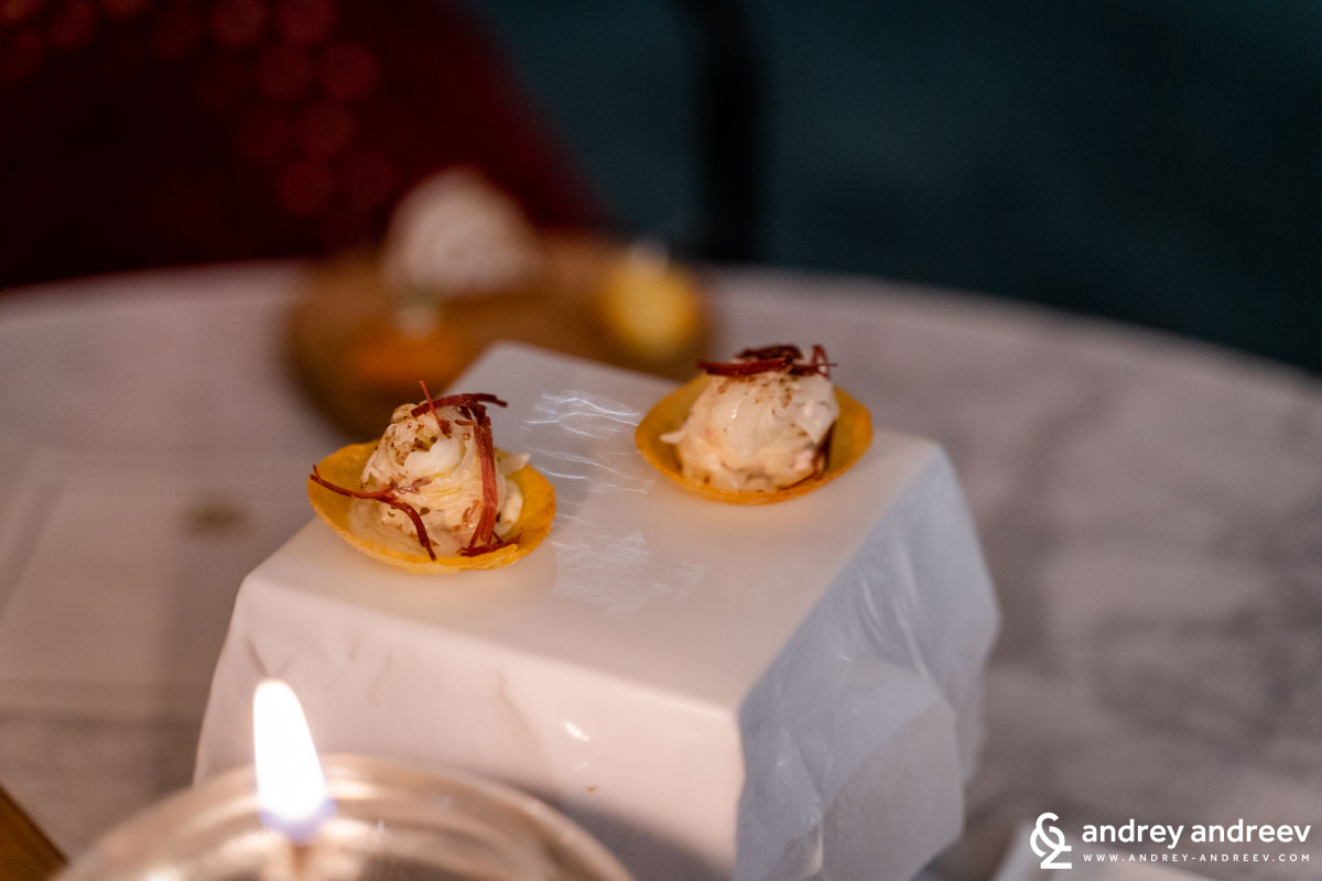 More from the amuse bouche - Le Chambard, Michelin restaurant in Alsace