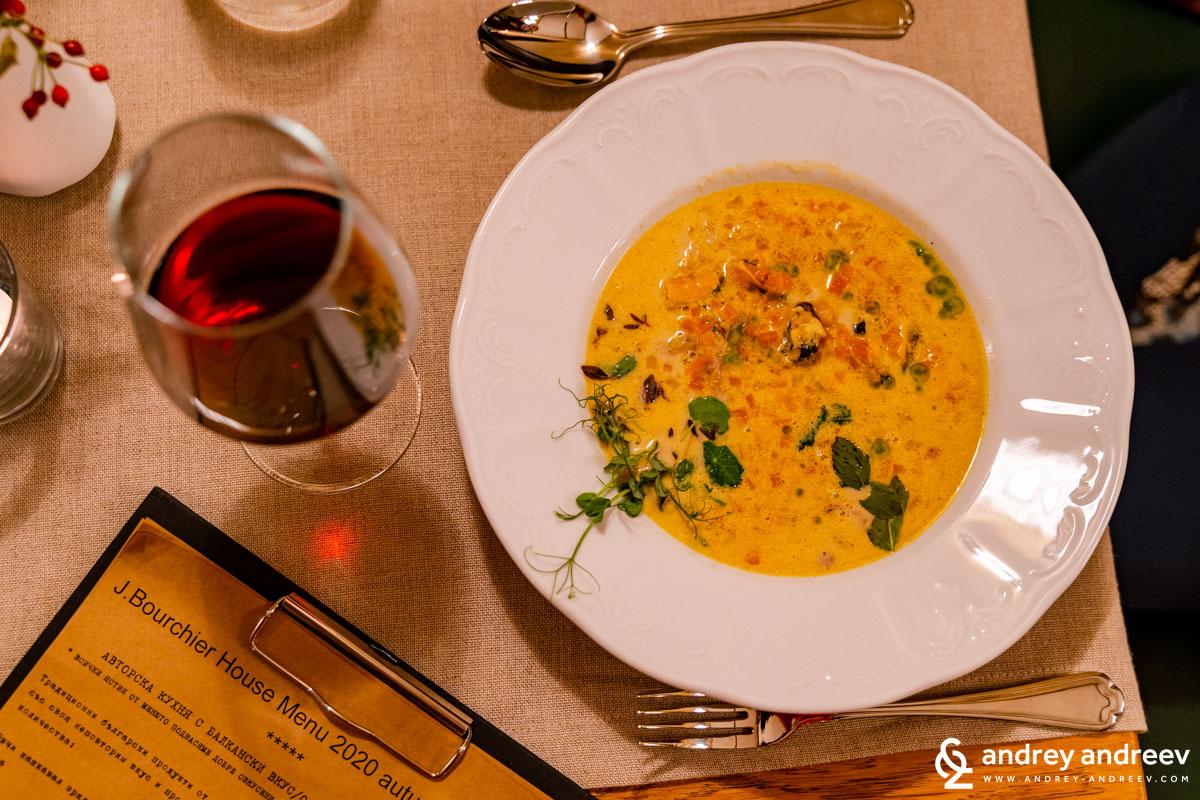 Супа от заек и миди