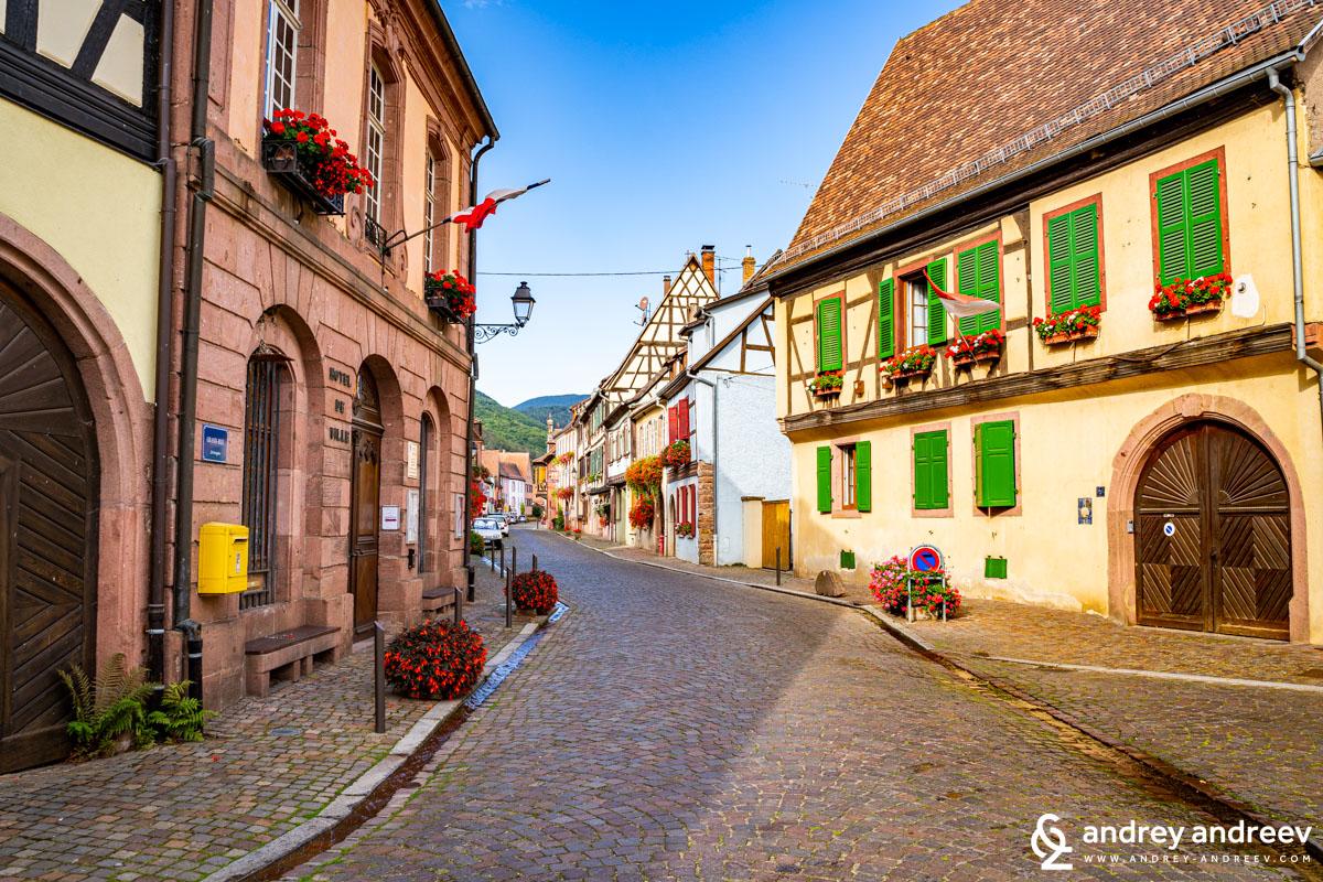 Kientzheim village, Alsace, France