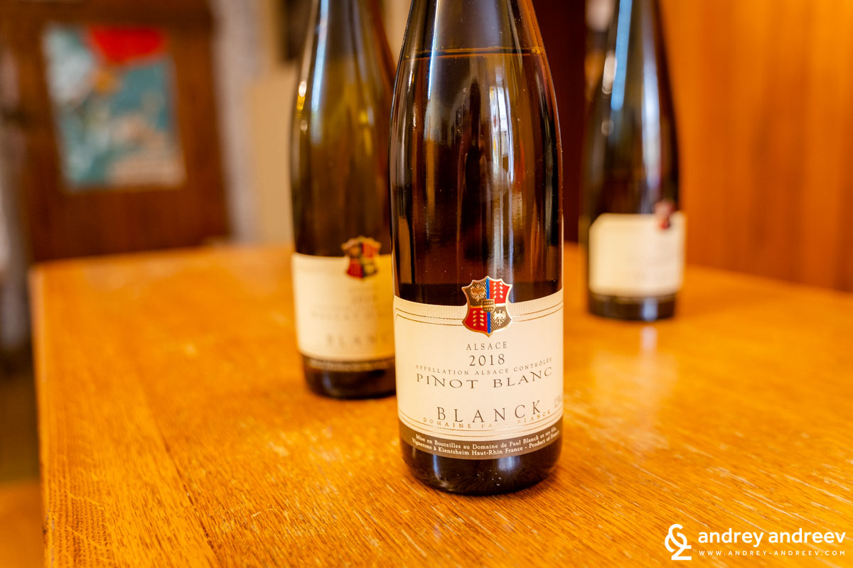 Pinot Blanc from Domaine Paul Blanck, Alsace, France