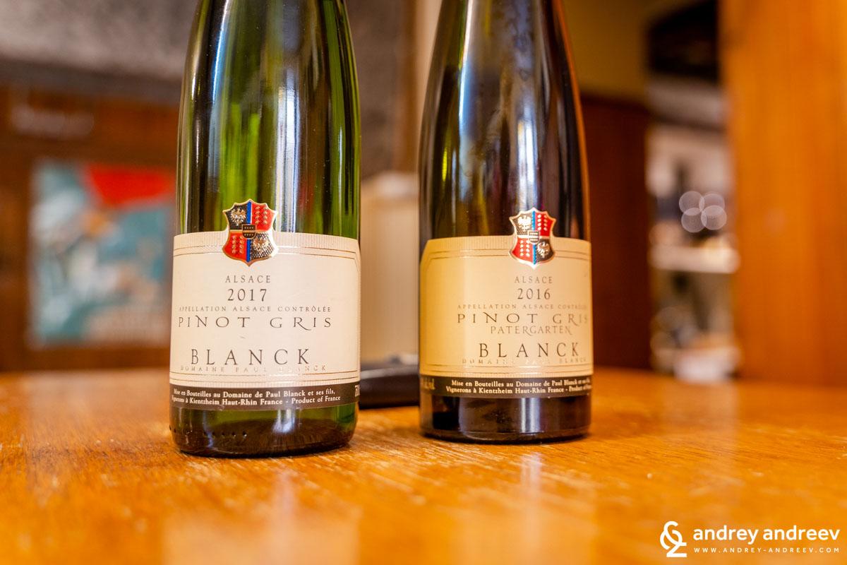 Пино Гри от винарна Пол Бланк