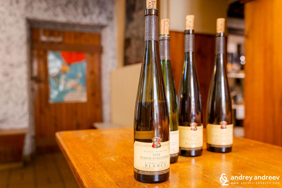 Wineck-Schlossberg Pinot Gris 2016 - Пол Бланк