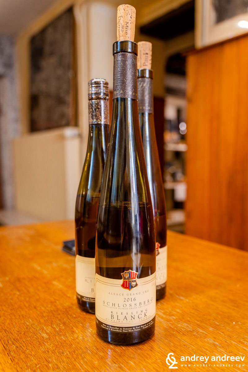 Schlossberg Riesling 2016 and  Furstentum Riesling 2017