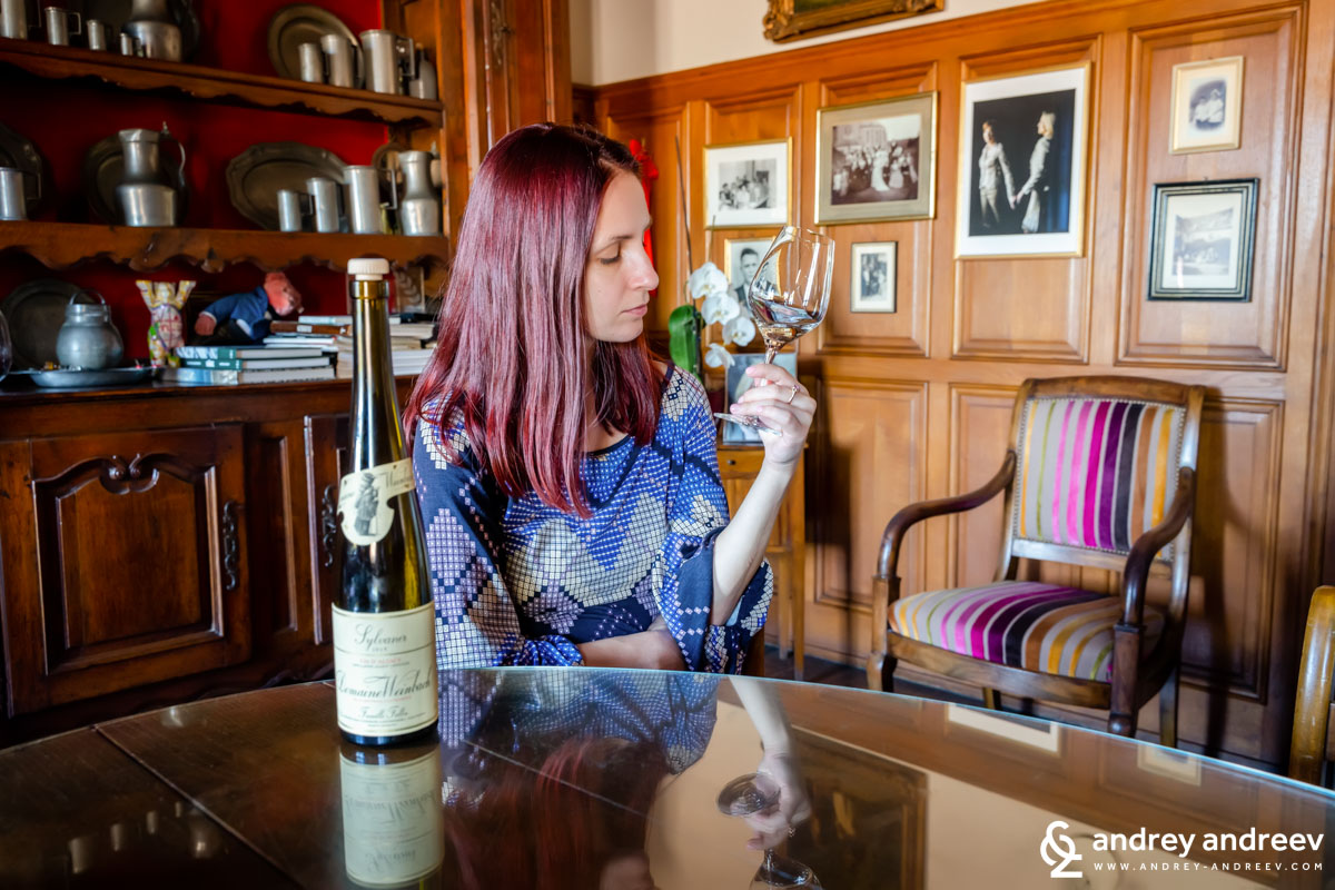 Sylvaner 2019, Domaine Weinbach Alsace France