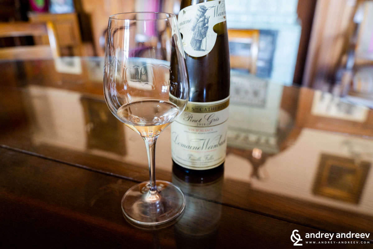 Pinot Gris from Domaine Weinbach