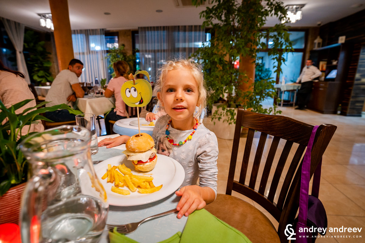В ресторанта на Therma Vitae има и детко здравословно меню