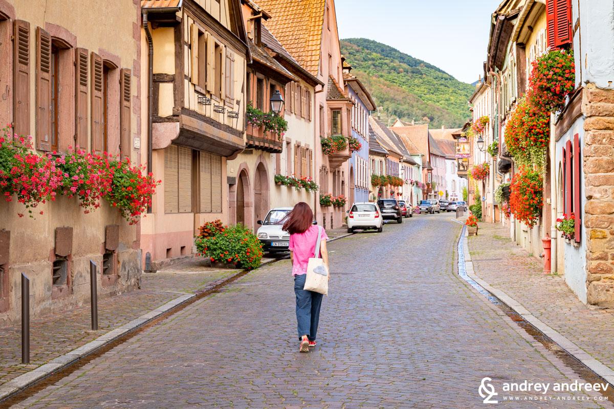 Kientzheim village Alsace France