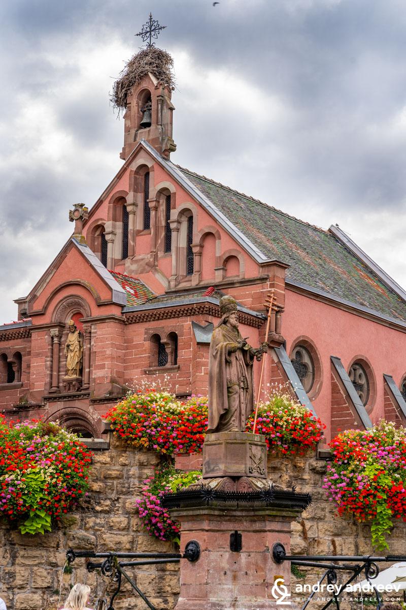 The church dedicated to Pope Leo IX