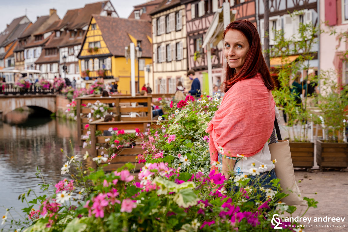 Colmar is extremely picturesque and full of flowers