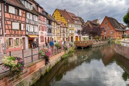 Beautiful Colmar in Alsace France
