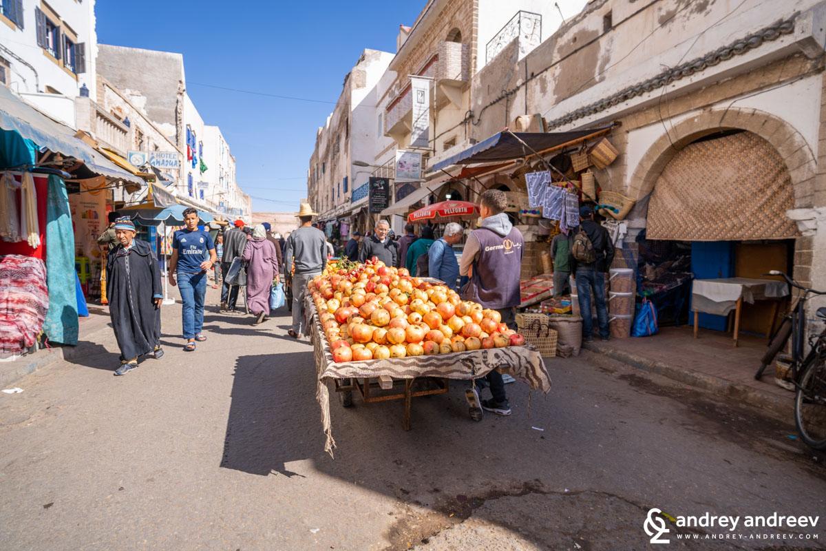 Нарове на пазара в Есауира