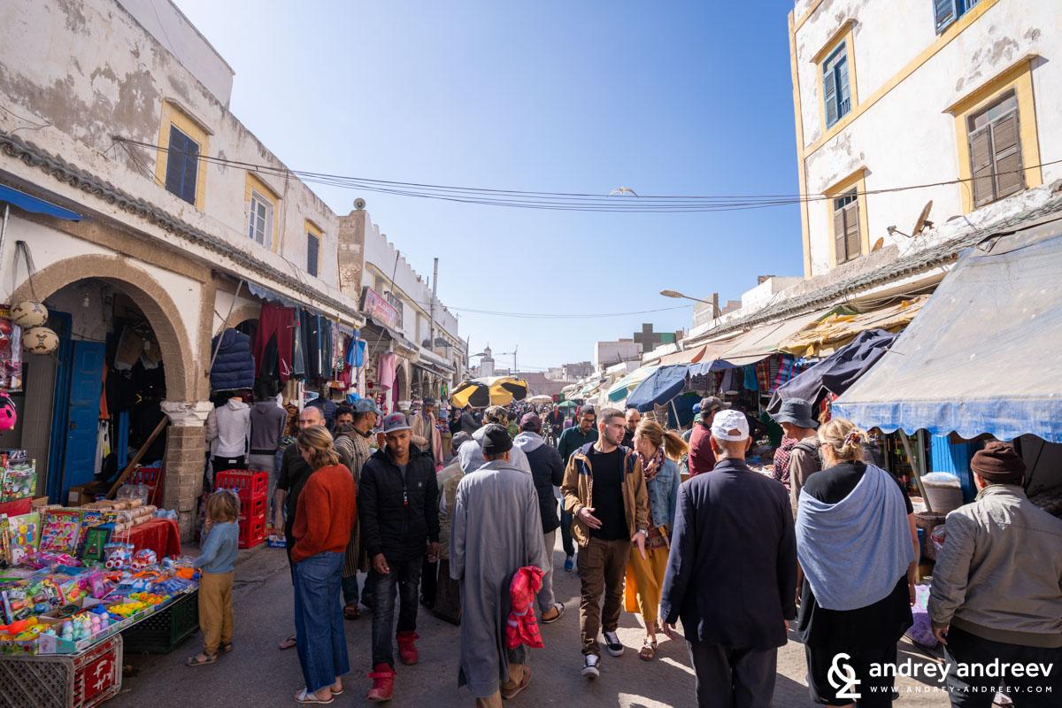 Мигове от мароканския пазар