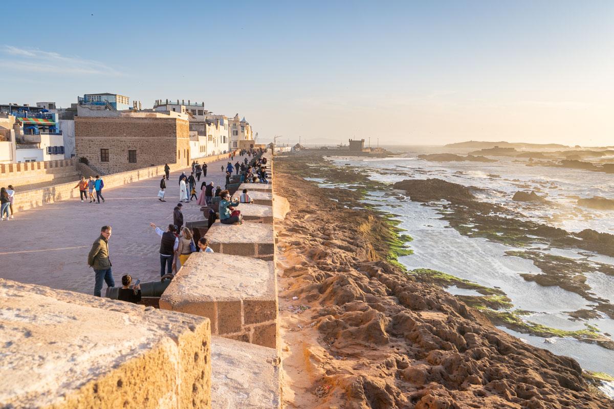 Крепостните стени на Могадор