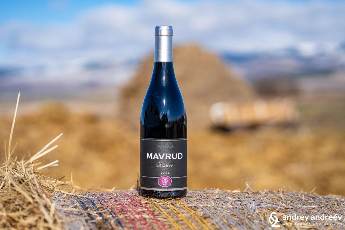 Mavrud Reserve 2019 by Villa Bassarea